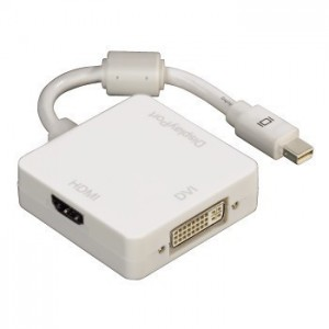Hama 53245 3 In 1 Mini Displayport Adapter