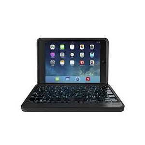 ZAGG IM3RGK-BBU Rugged Book Docking Keyboard & Case for iPad Mini 4