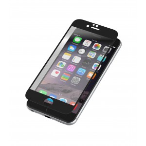 Zagg IPPBGS-BK0 Invisible shield glass by Zagg iPhone 6 plus Black Finish