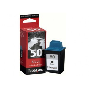 LEXMARK NO 50 BLACK INK CARTRIDGE