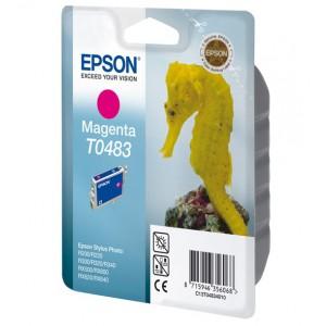 EPSON - INK - T0483 - MAGENTA - SEAHORSE - STYLUS PHOTO R200 / R220 / R300 / R320 / R340 / RX500 / RX600 / RX620 / RX640
