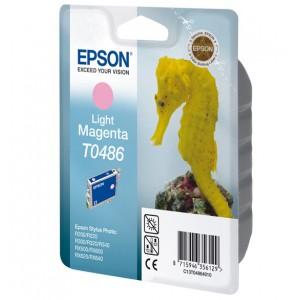 EPSON - INK - T0486 - LIGHT MAGENTA - SEAHORSE - STYLUS PHOTO R200 / R220 / R300 / R320 / R340 / RX500 / RX600 / RX620 / RX640