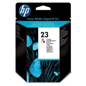 HP # 23 TRI-COLOUR INKJET PRINT CARTRIDGE. DESKJET 700/800/890C/895CXI/1100/OJ R45/T45/R65/T65/ OJ PRO 1170C/1175C/PSC 500