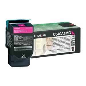 LEXMARK C54X X54X Magenta Return Programme Toner Cartridge - 1 000 pgs