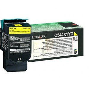 LEXMARK C544 / X544 Yellow Extra High Yield Return Programme Toner Cartridge - 4 000 pgs