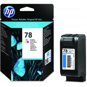 HP # 78 TRI-COLOUR INKJET PRINT CARTRIDGE. HP DESKJET 900 SERIES / 1220C/ PHOTOSMART 1000 /1100 /1115 /1115 /1215 /1218 /1315