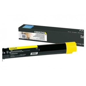 LEXMARK C950de Yellow Extra High Yeild Toner Cartridge