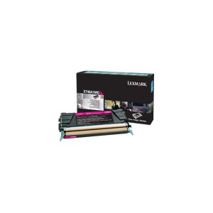 LEXMARK X746 / X748 Magenta Return Program Toner Cartridge - 7 000 pgs