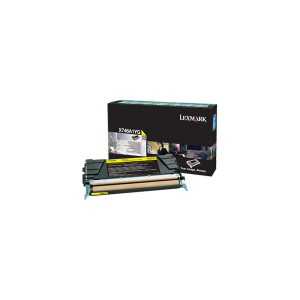 LEXMARK X746 / X748 Yellow Return Program Toner Cartridge - 7 000 pgs