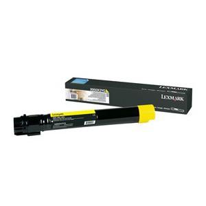 LEXMARK X950 X952 X954 Yellow Extra High Yield Toner Cartridge - 22 000 pgs
