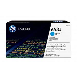 HP # 653A CLJ M680 CYAN PRINT CARTRIDGE.