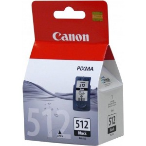 Canon PG-512 Black High Yield Ink Cartridge   Blister Pack