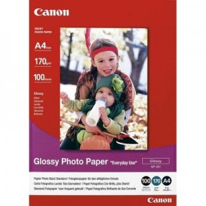 CANON - INKJET PHOTO - PAPER GP-501 4X6 (1 BOX OF 100 SHEETS 4X6)