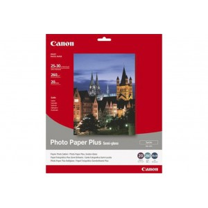 CANON - INKJET PHOTO - PAPER SG-201 10X 12 (1 BOX OF 20 SHEETS SEMI-GLOSS)