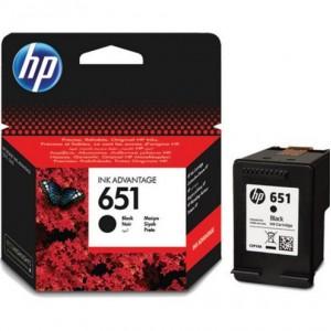 HP #651 BLACK INK CARTRIDGE - IA 5575 / 5645