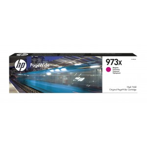 HP # 973X High Yield Magenta Original PageWide Cartridge