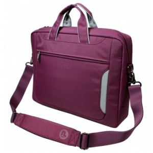 Marbella 156'' purple / grey Top Loading bag with compartment for Notebook Large extendable inside pockets for telephone or accessories organiser pocket in the front Handle & shoulder straps Trolley s