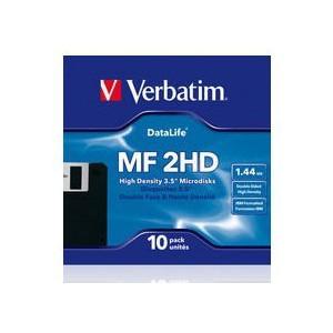 VERBATIM - 3.5 MF-2HD - DATALIFE - (BOX OF 10) - WSL