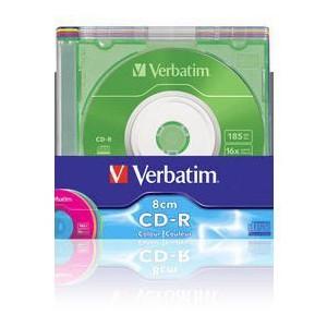 Verbatim - 210MB - CD-R DATA 8CM - (BOX OF 5) - WSL