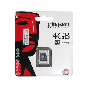 4GB MICROSDHC CLASS 10 FLASH CARD SINGL