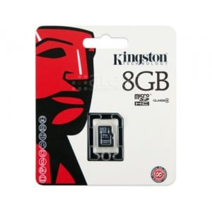 8GB microSDHC Class 4 Flash Card Single Pack w/o Adapter