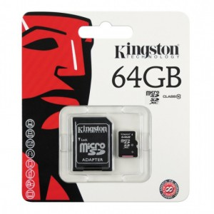 64GB MICROSDXC CLASS 10 FLASH CARD