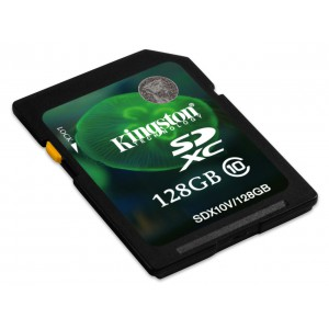 128GB SDXC CLASS 10 FLASH CARD