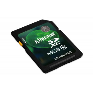 64GB SDXC Class 10 Flash Card