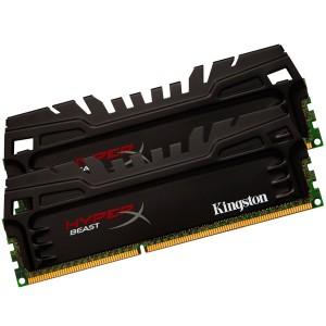 Kinston HyperX Beast 8 GB (2 x 4 GB) DDR3 1600 MHz CL9 Desktop Memory Kit, Black XMP