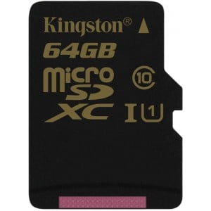 64GB microSDXC Class 10 UHS-I 90R/45W Single Pack w/o Adapter
