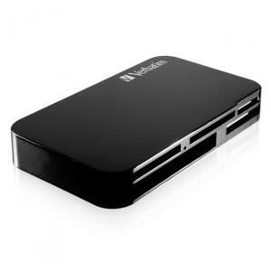 M47264 Verbatim Universal Memory Card Reader, USB 2.0 interface