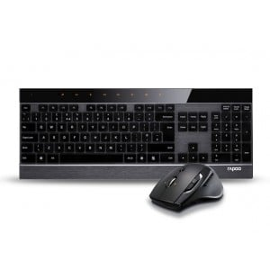 RAPOO 8900P 5G WLS MOUSE AND KB SET