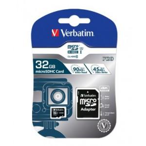 VERBATIM - 32GB SDHC PRO UHS-I PLUS ADAPTOR