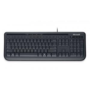 Microsoft Wired Keyboard 600 USB Black