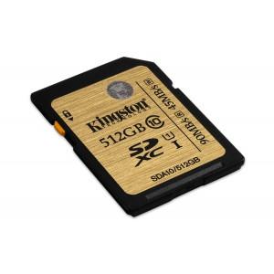 512GB SDXC Class 10 UHS-I 90MB/s read 45MB/s write Flash Card