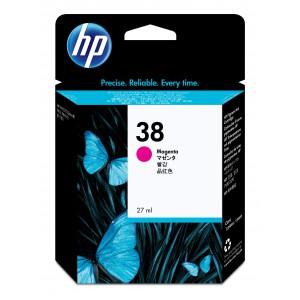 HP # 38 MAGENTA PIGMENT INK CARTRIDGE WITH VIVERA INK