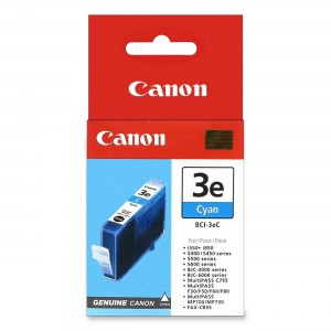 CANON - INK CYAN - BJC-3000 / BJC-6000 SERIES / S-400 / 450 / 500 / 520 / 530D / 600 / 630 / 750 / 4500 MP C-100 / 400 / 600F / I550 / I850 / I6500 - 340 PGS
