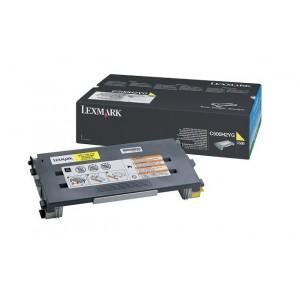 LEXMARK C500N Yellow Toner Cartridge - 3 000 pgs