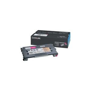 LEXMARK C500N Magenta Toner Cartridge - 1 500 pgs