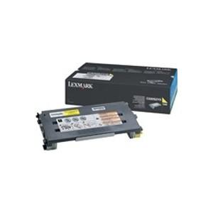 LEXMARK C500N Yellow Toner Cartridge - 1 500 pgs