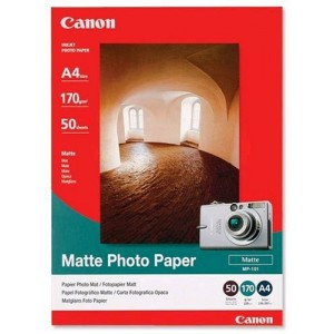 CANON - INKJET PHOTO - PAPER MP101 A4 (1 BOX OF 50 SHEETS A4)