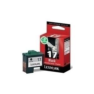 LEXMARK No 17 High Resolution Black Cartridge - Z13 / Z23 / Z33 / Z35 / X74 / X75 / Z605 / Z612 / X1130 / X1150 / X1180 Moderate Use - 210 pgs
