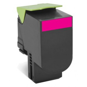 LEXMARK 808M CS310 / CX410 / CX510 Magenta Return Program Toner Cartridge - 1 000 pgs