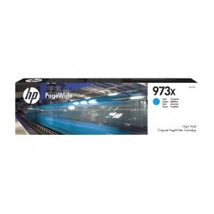 HP # 973X High Yield Cyan Original PageWide Cartridge