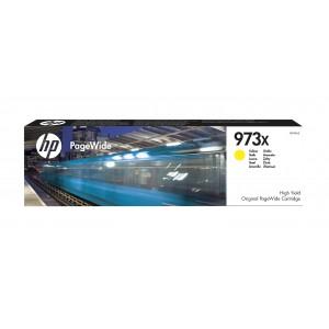 HP # 973X High Yield Yellow Original PageWide Cartridge