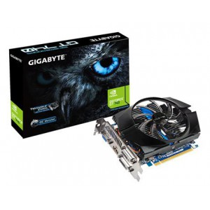GIGABYTE nVidia GeForce GTX740 OC - 2048MB GDDR5, 128-Bit Memory Bus