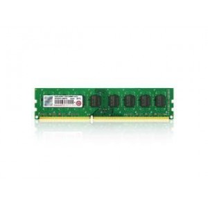 Transcend 2GB DDR3-1333 240-Pin Desktop DIMM : CL9, 1.5V, Top tier name-brand DRAM