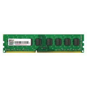 Transcend 4GB DDR3-1333 240-Pin Desktop DIMM : CL9, 1.5V, Top tier name-brand DRAM