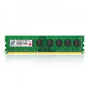 Transcend 2GB DDR3-1600 240-Pin Desktop DIMM : CL11, 1.5V, Top tier name-brand DRAM