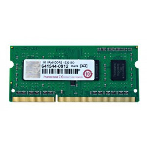 Transcend 2GB DDR3-1600 204-Pin Notebook SO-DIMM : CL11, 1.5V, Top tier name-brand DRAM